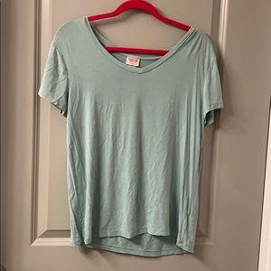 Mint colored t-shirt